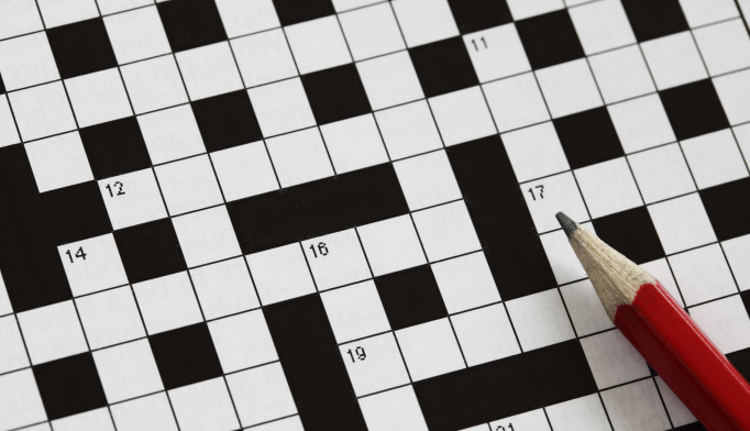 Crossword Puzzles Benefit Cognitive Performance, Memory