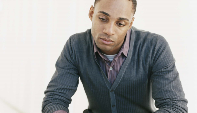 Younger black and Hispanic men are less likely to seek treatment than their white peers.