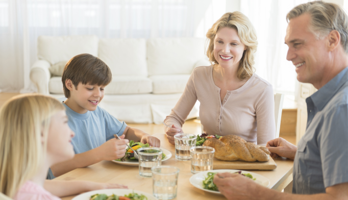Family Dinners Help Protect Kids Against Impact of Cyberbullying