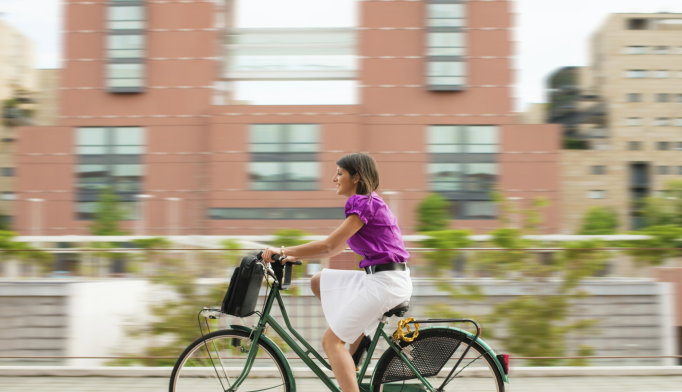 Walking, Biking To Work Improves Mental Health
