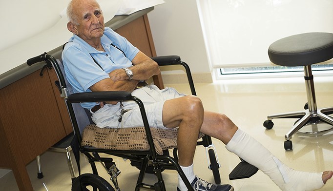 Psychological Variables Associated With Disability Following Ankle Surgery
