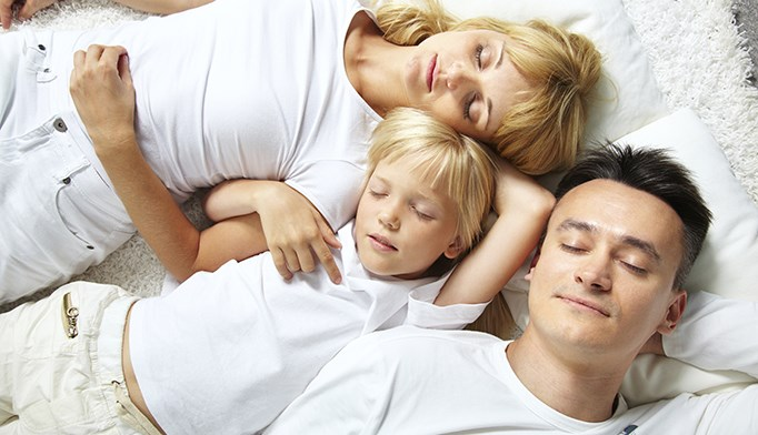 Employees with improved work-family balance had improved sleep quality.