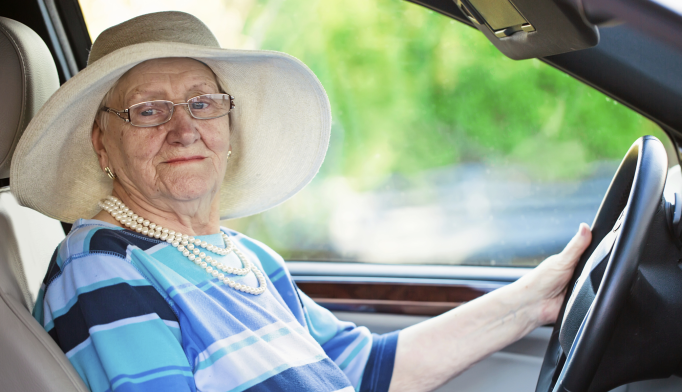 Individuals with dementia made twice as many driving errors during a road test compared with healthy controls.