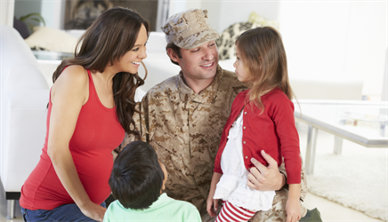 Helping Military Families Cope with Stress