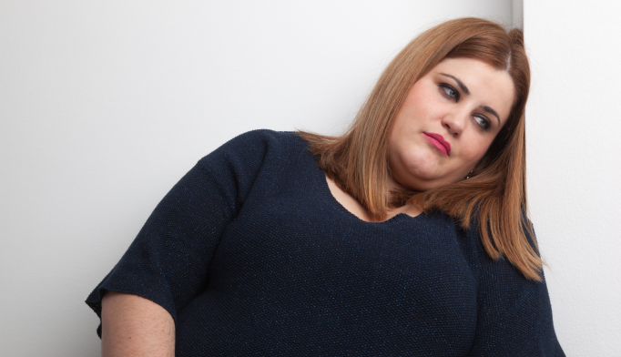 Modestly obese women who were educated were almost twice as likely to have depression than their normal-weight peers.