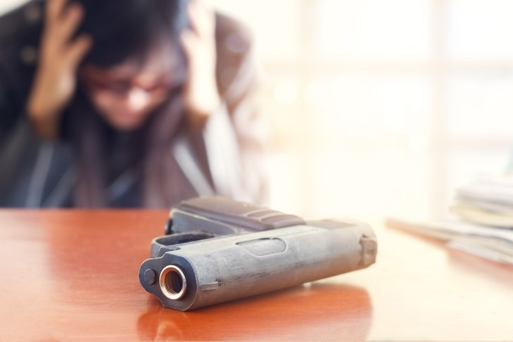Suicidal Patients Rarely Asked About Firearm Access in ER