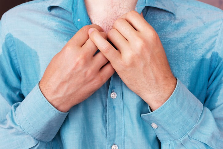 Positive correlations were identified for hyperhidrosis severity and the prevalence of anxiety and depression.