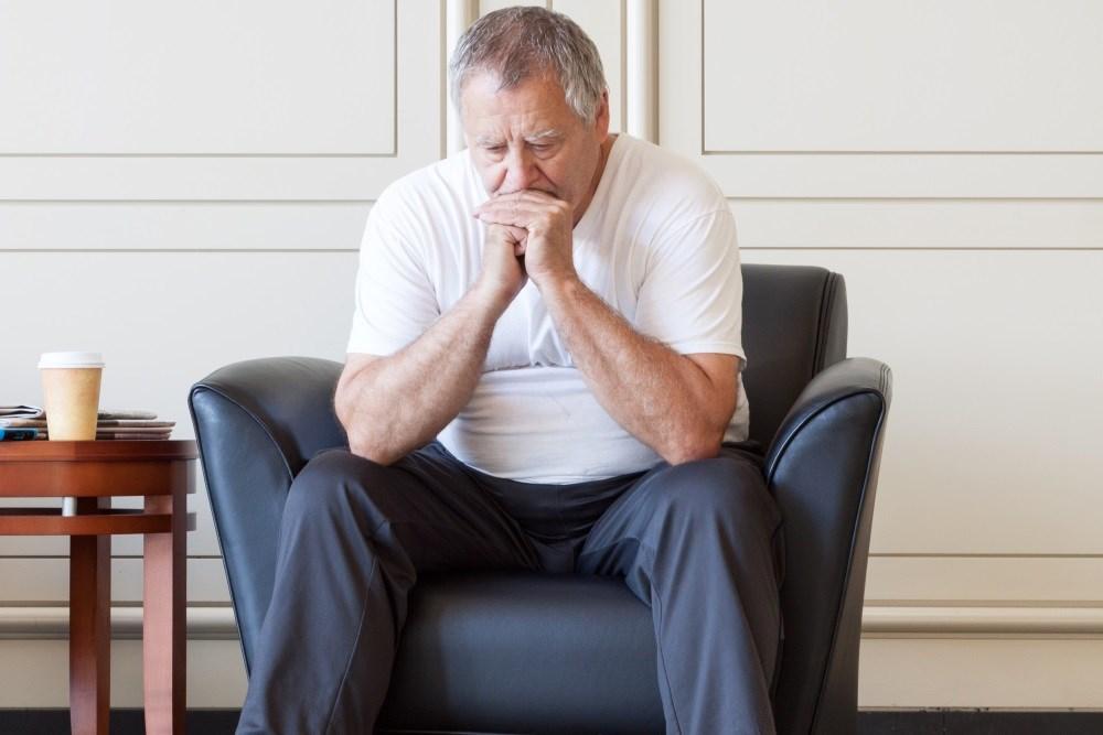 Suicide Risk Highest in Older Men