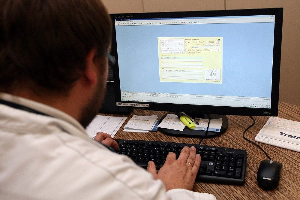 73.6% of respondents reported that they had obtained the password of another medical staff member.