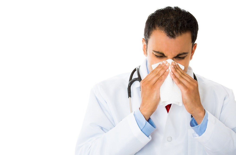 Health Care Personnel Work Despite Having Influenza Symptoms