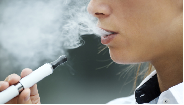 E-cigarette perceived as less harmful
