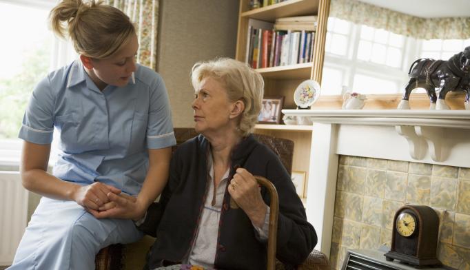 Home Nurses Integrating Depression Care Benefits Elderly