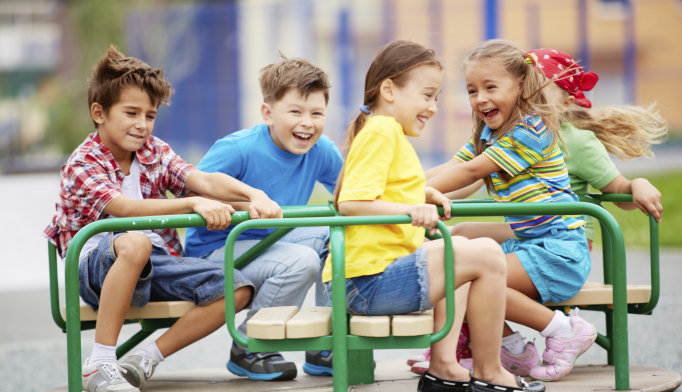 More Risk, Challenge on School Playgrounds Linked to Happier Children