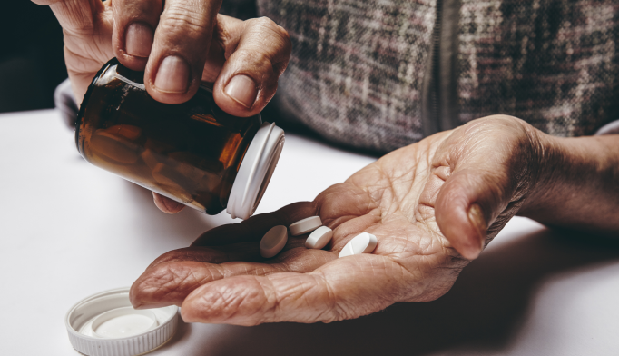 Dementia patients who were younger, female and lived in nursing homes were most associated with psychotropic polypharmacy.