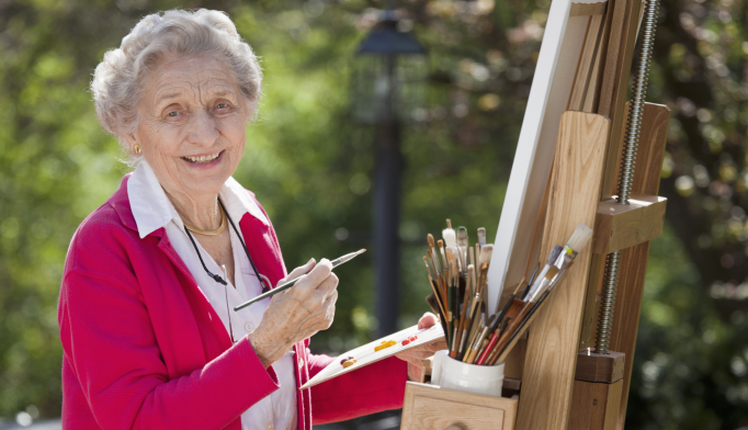 Arts and Crafts, Social Activities May Help Thwart Dementia