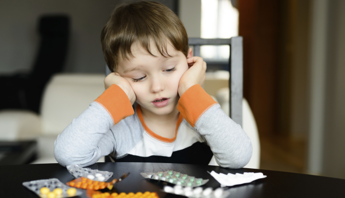 More Than 1% of Preschoolers Given Psychiatric Medication