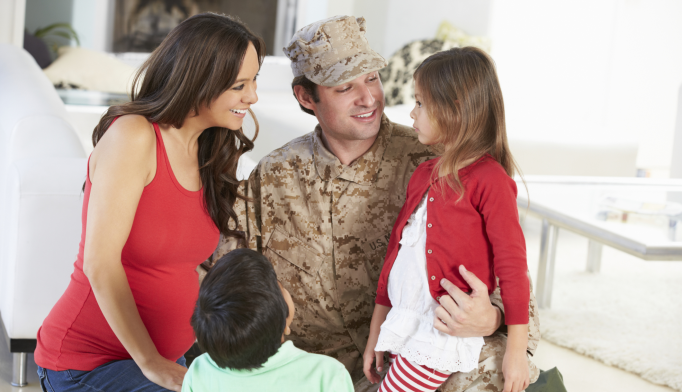 Unique Program Treats Military Families With Mental Health Issues