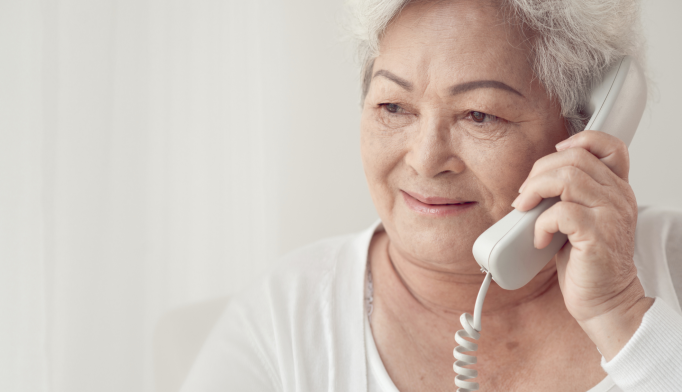 CBT Via Phone Helps Seniors With Anxiety