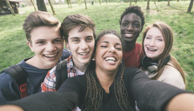 Having Friends Helps Teens Avoid Depression