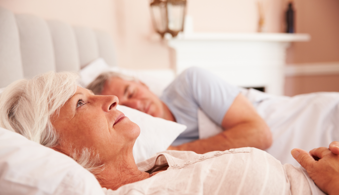 Less Deep Sleep in Elderly Tied to Alzheimer Disease Markers