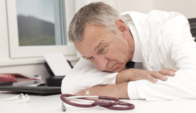 Physicians have higher rates of depressive symptoms than the general population.