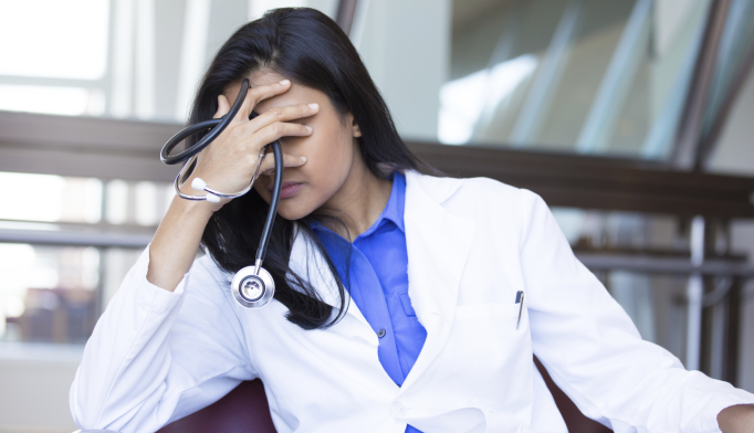 Early-career family physicians who practice inpatient medicine or obstetrics have reduced odds of burnout.