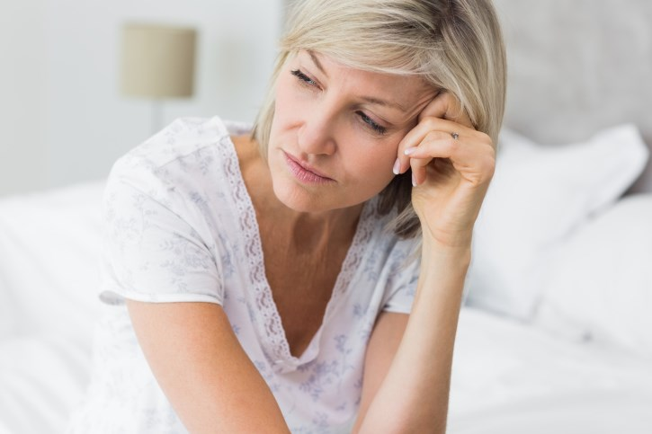 Menopausal status should be considered when assessing women with anxiety.