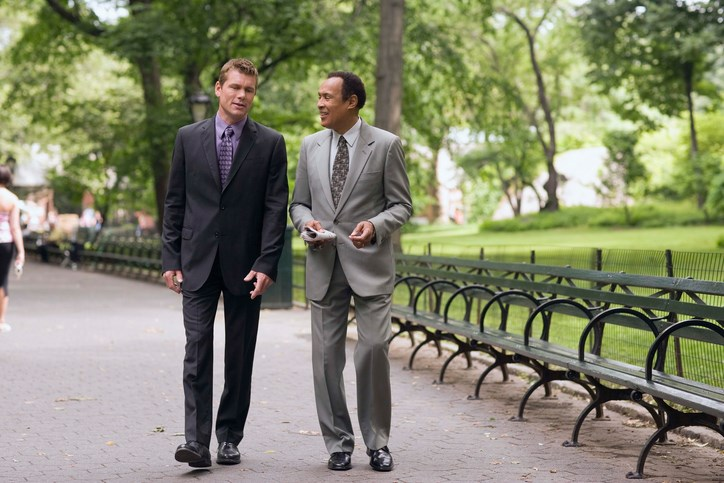 Converting just 1 meeting per week to a walking meeting can increase on-the-job activity levels for white-collar workers.