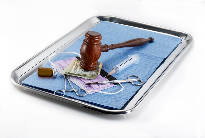 """A """"hostile medical litigation climate"""" is one of the major problems with the existing malpractice insurance system, driving significant losses of access to quality healthcare."""