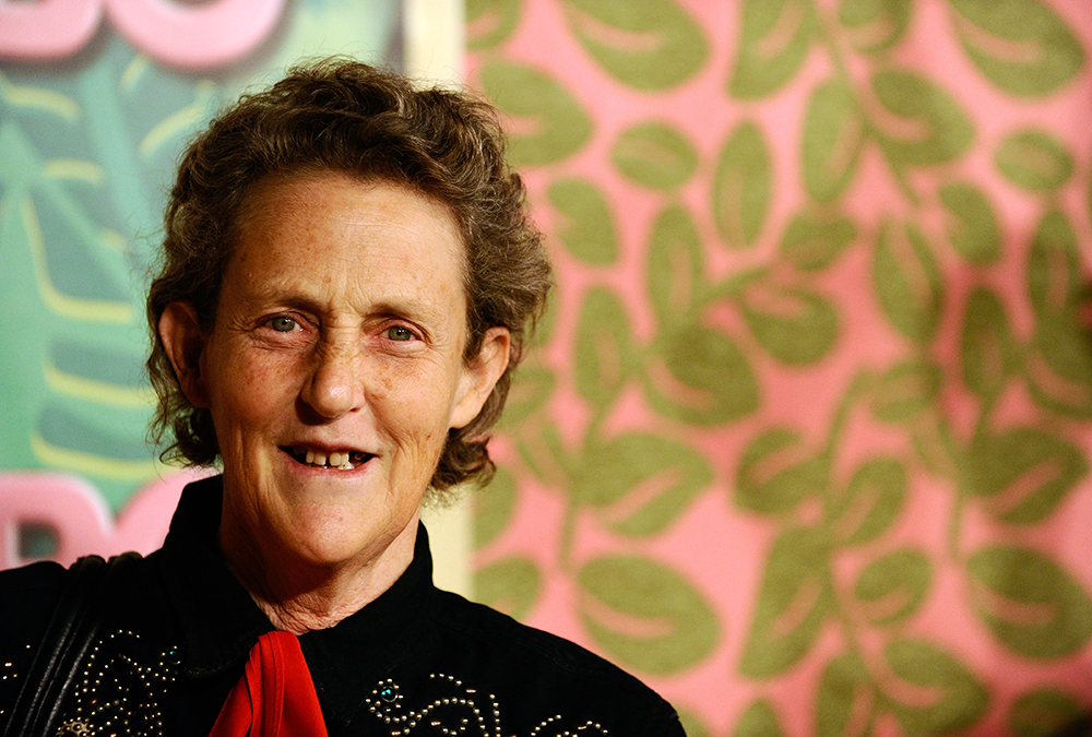 Temple Grandin recounted the ways in which she actualized herself and marshaled her uniqueness into a productive life and influential career in industrial design.