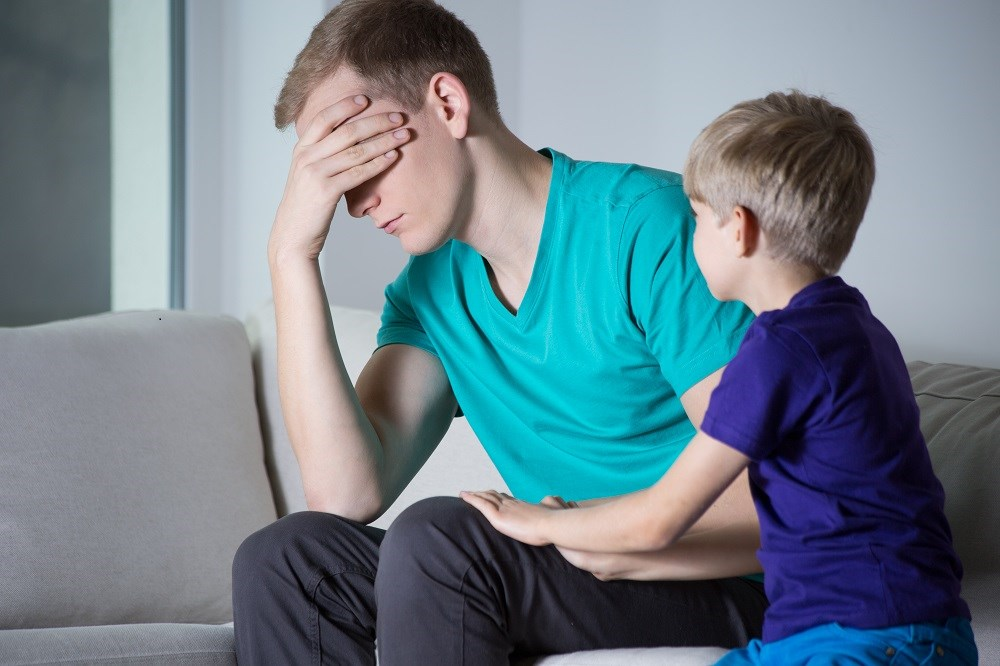 Paternal Depression Linked to Risk for Depressive Symptoms in Adolescents