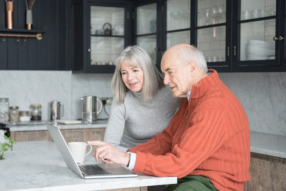 At-Home Program Aids Communication for Spouses With Dementia