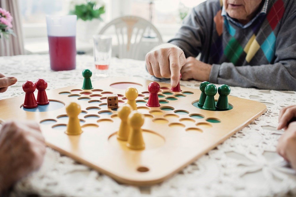 Active participation in intellectual activities among adults aged 65 years or older is associated with reduced risk for dementia.