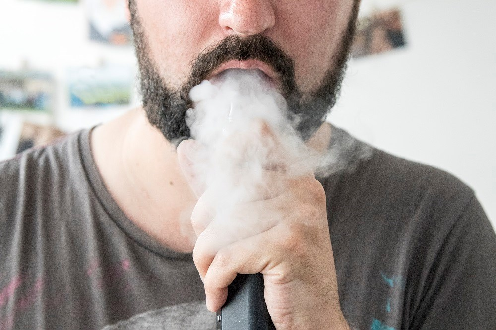 Asthma Symptoms Exacerbated From E-Cigarette Aerosol Exposure