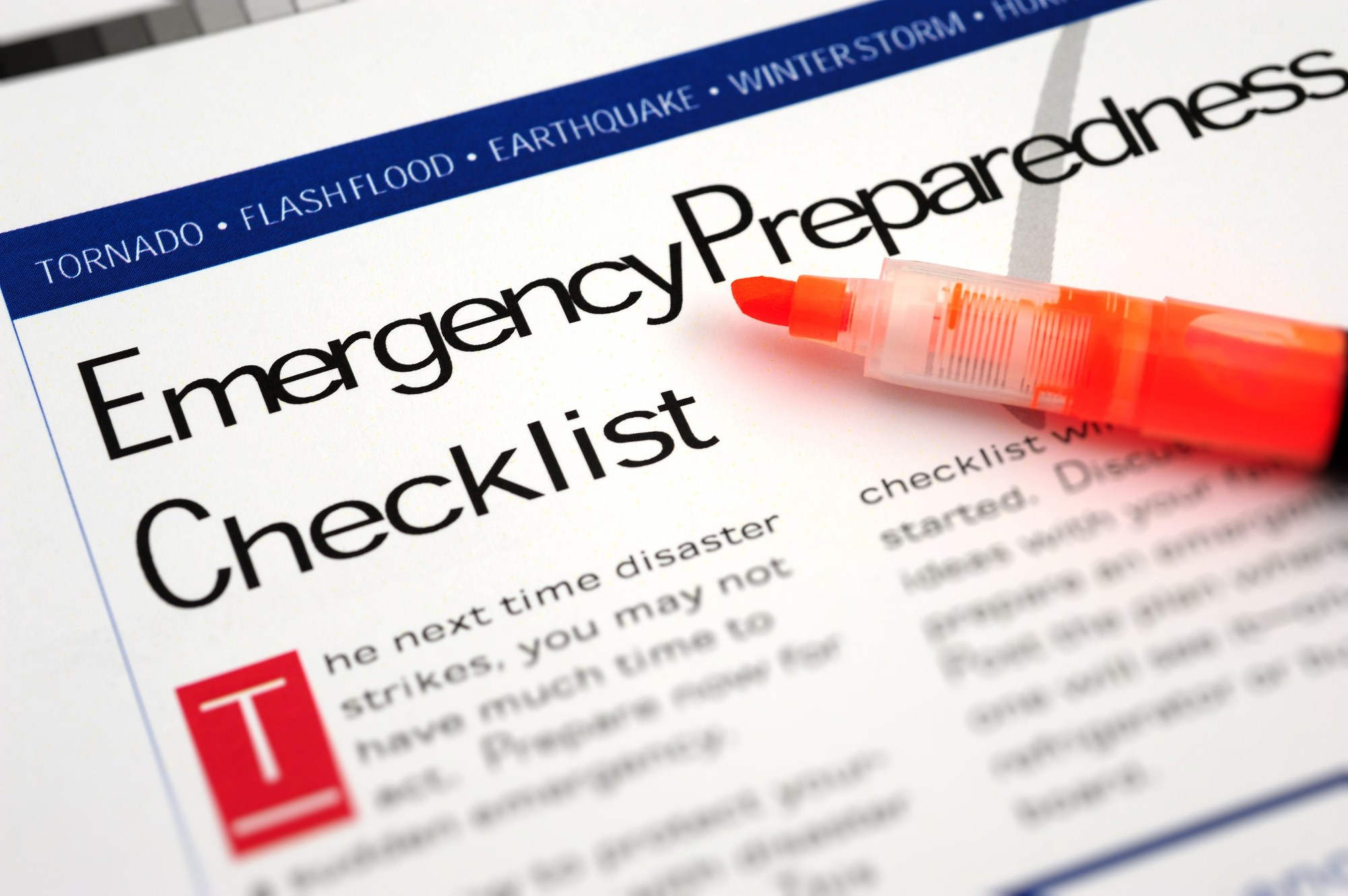 Physicians and Practices Should Prepare for Emergencies