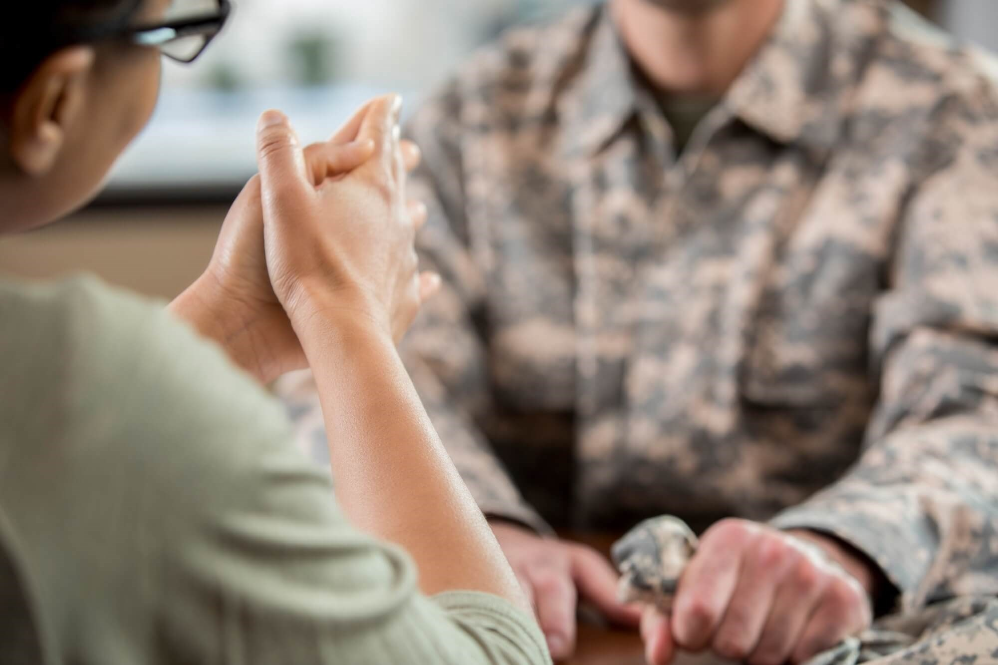 This research supports the use of mindfulness-based stress reduction as a treatment method for veterans with PTSD.