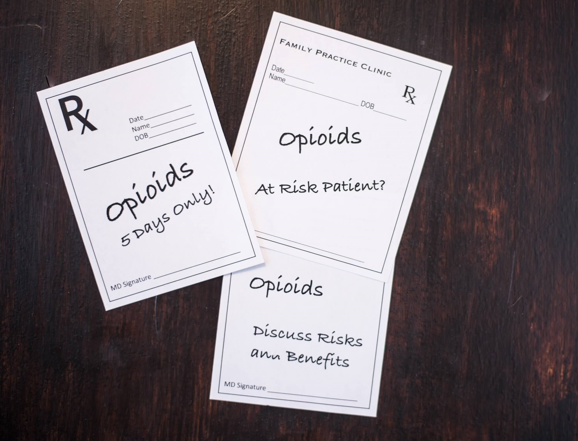 Clinicians should familiarize themselves with their state's medical commission's guidance on opioid prescribing.