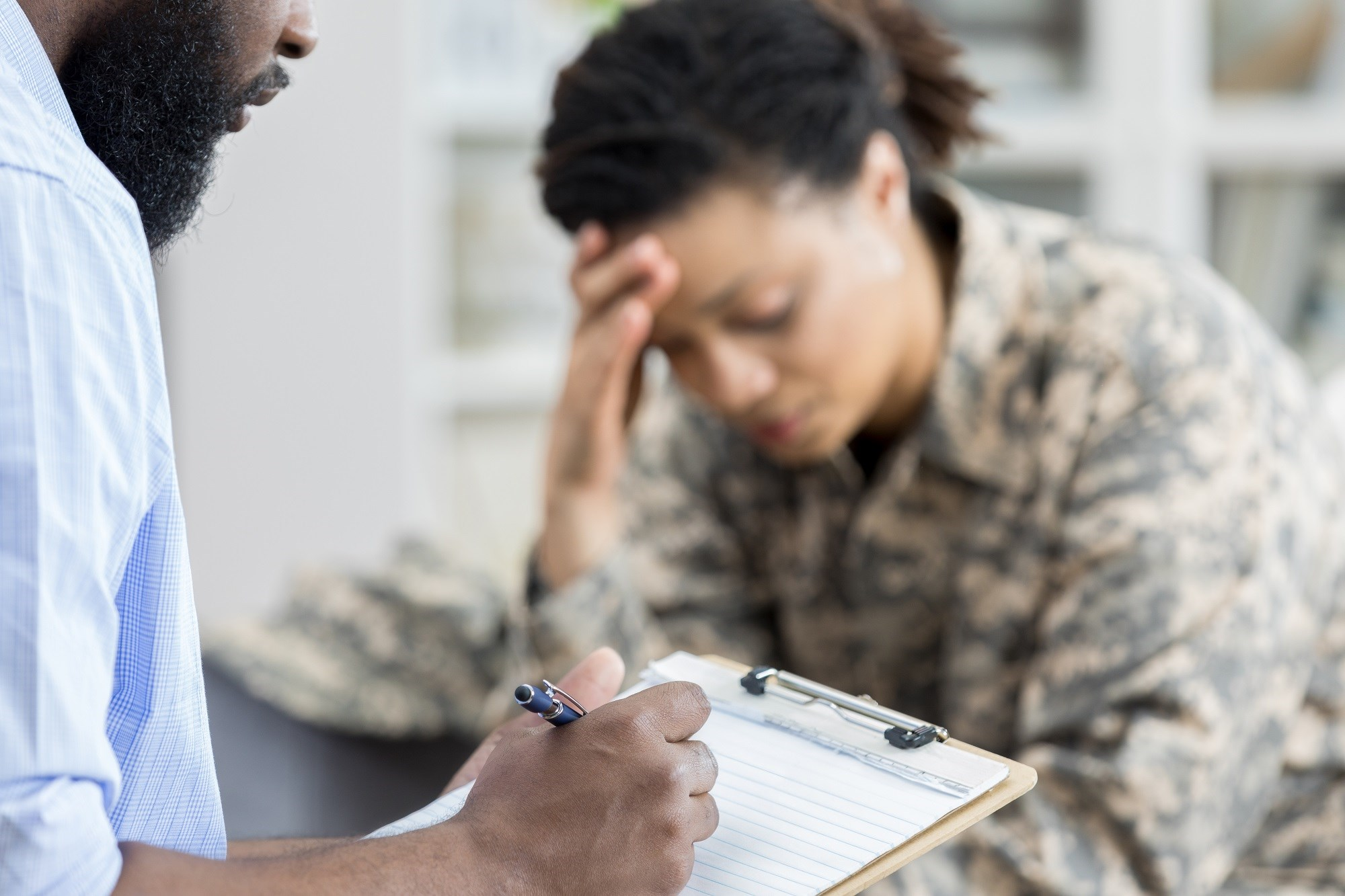 Dementia Risk Increased in Women With Military-Linked Risk Factors