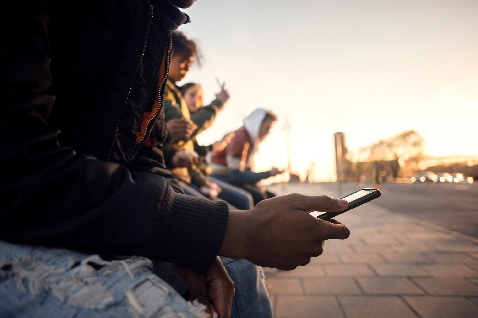 It is estimated that 95% of youth aged 13 to 17 years across all demographic groups use smartphones, with near-constant internet use reported by 45% of teens.
