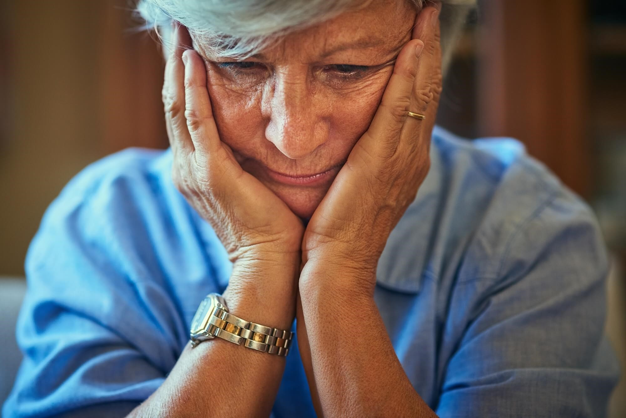 People with late-life depression had significantly fewer years of formal education compared with healthy controls.